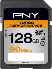 PNY Turbo Performance 128GB SDXC Memory Card