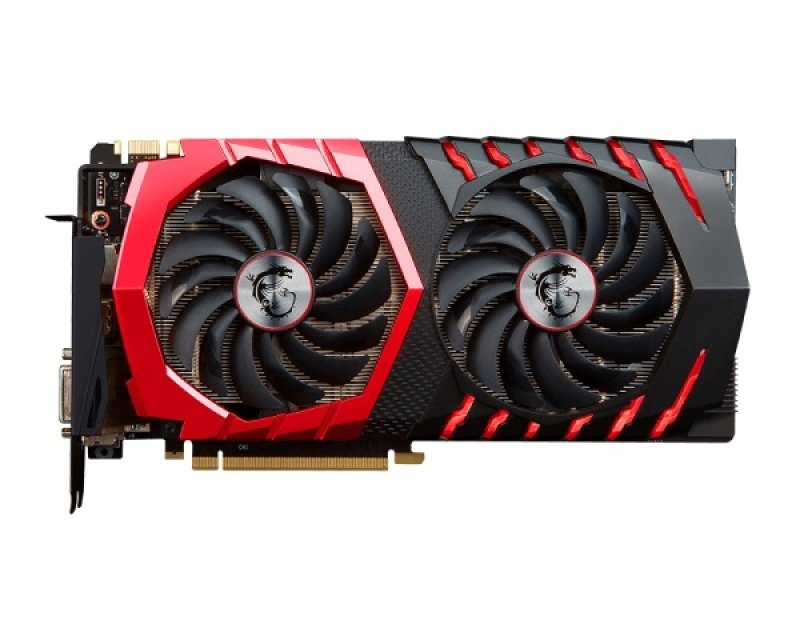 EXDISPLAY MSI GeForce GTX 1080 GAMING X 8GB GDDRX DVI HDMI 3 x DisplayPort PCI-E Graphics Card