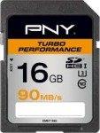 PNY Turbo Performance 16GB SDHC Memory Card