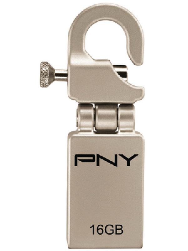 PNY Micro Hook Attaché 16GB USB Flash Drive