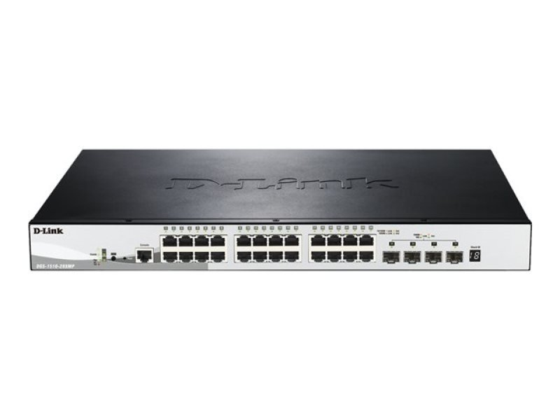 D-Link SmartPro DGS-1510-28XMP 28 Port Managed Switch