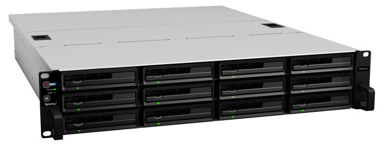 Synology RS3617XS 24TB (12 x 2TB WD RED PRO) 12 Bay Rack NAS