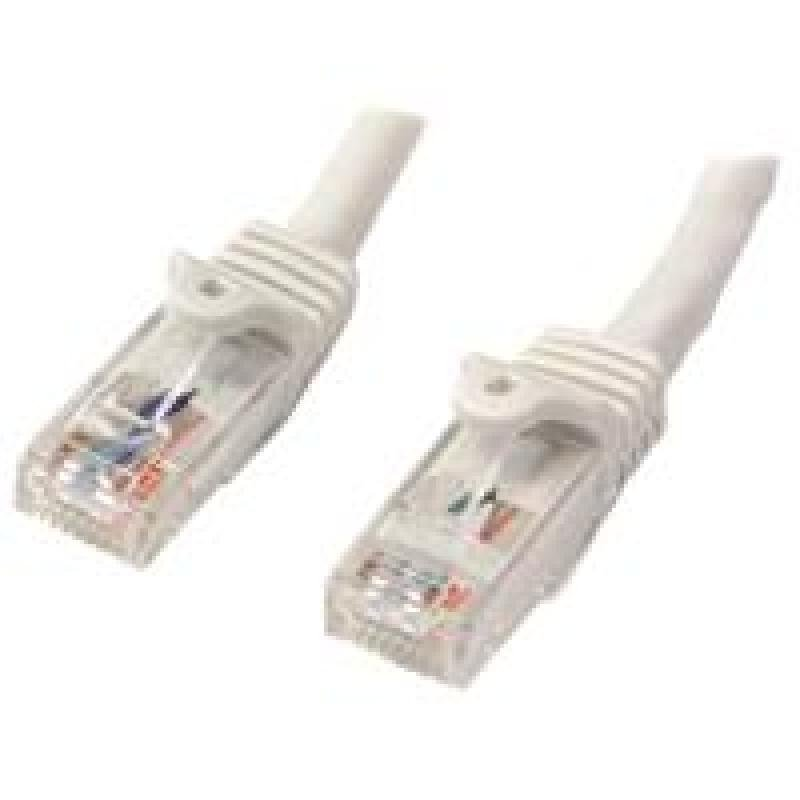 StarTech 10m White Snagless Utp Cat6 Patch Cable