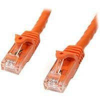 StarTech 7m Orange Snagless Utp Cat6 Patch Cable