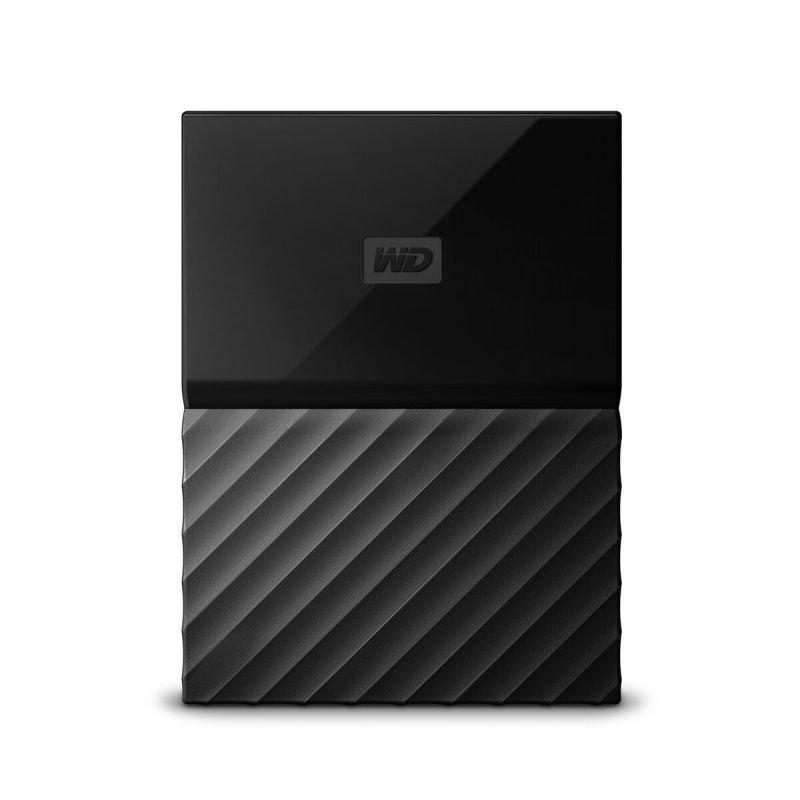 WD My Passport 1TB Portable Hard Drive  Black