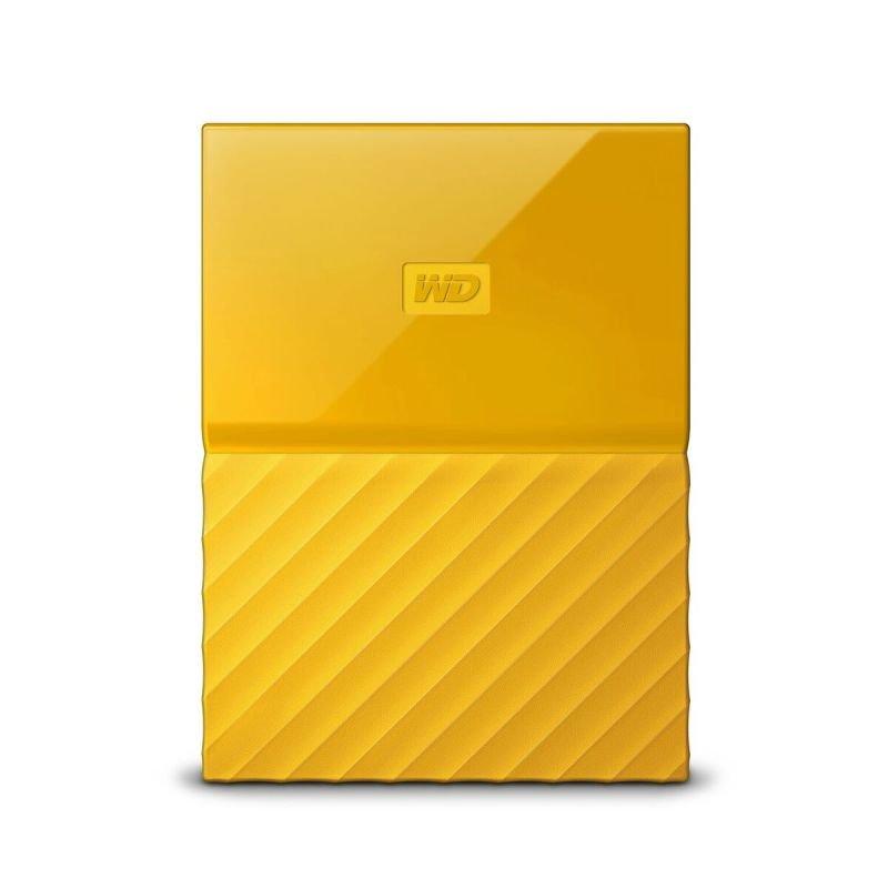 WD My Passport 1TB Portable Hard Drive - Yellow