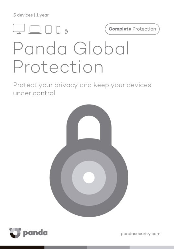 Panda Global Protection 5 Users 1 Year DVD