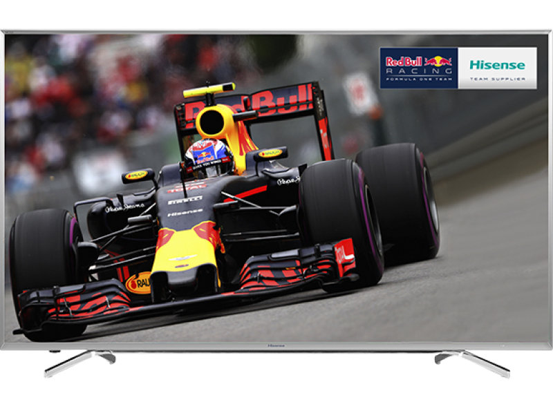"""55"""" 4k Uhd Led Tv With Freeview Hd 3840 X 2160 Silver 4x Hdmi And 3"""