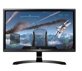 "LG 24UD58 23.8"" IPS 4K UHD Gaming Monitor"