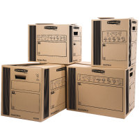 DOUBLE WALL CARGO BOX 400X320X320MM PK10