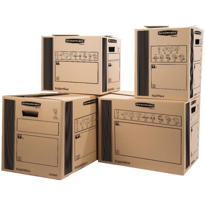 DOUBLE WALL CARGO BOX 400X320X320MM PK10