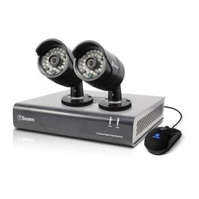 Swann DVR4-4400 4 Channel 720p Digital Video Recorder & 2 x PRO-A850 Cameras
