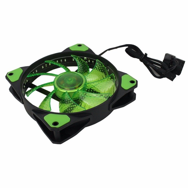 Game Max Galeforce 32 x Green LED 12cm Cooling Fan