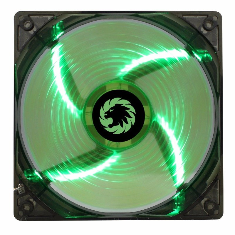 Game Max Windforce 4 x Green LED 12cm Cooling Fan