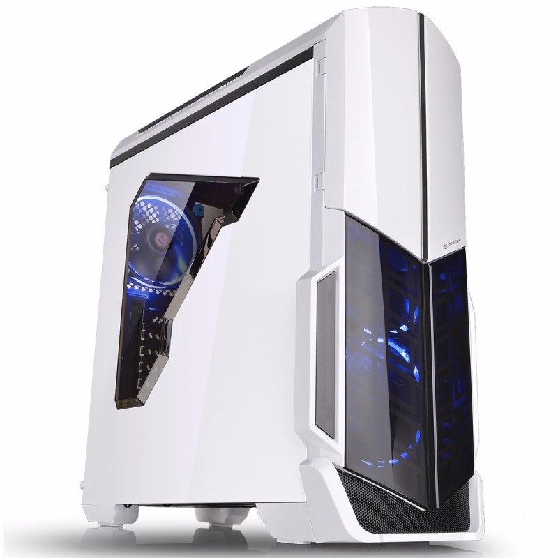 Thermaltake Versa N21 Snow White Midi Gaming Case CA-1D9-00M6WN-00