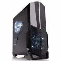 Thermaltake Versa N21 Midi Gaming Case USB3 12cm Rear Fan Toolless