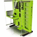 Thermaltake Core P5 Green Edition Mid Tower ATX Case with Acrylic Side Window