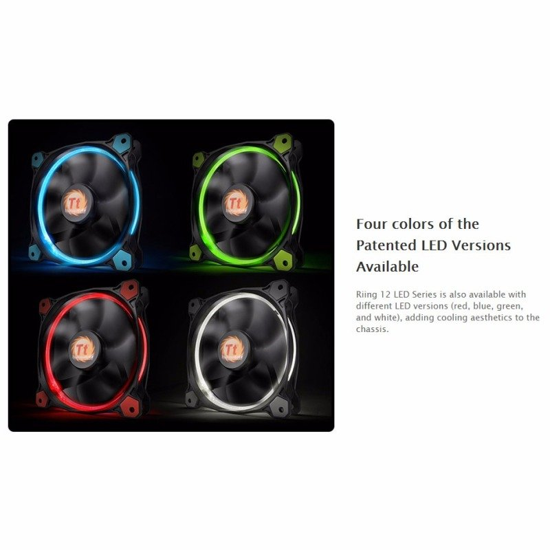 Thermaltake Riing12 Led Blue 120mm Fan
