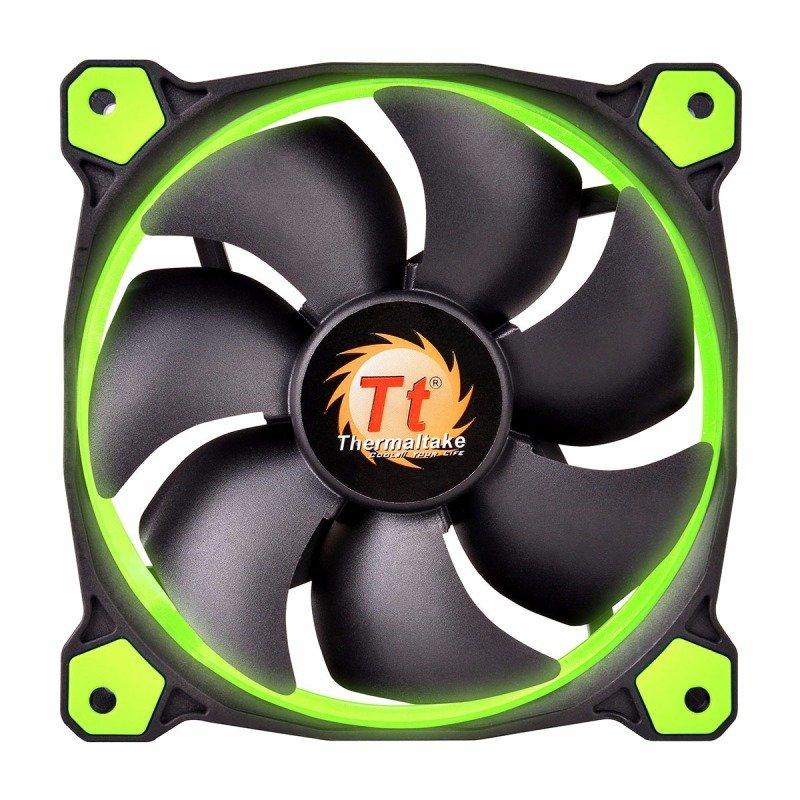 Thermaltake Riing12 Led Green 120mm Fan