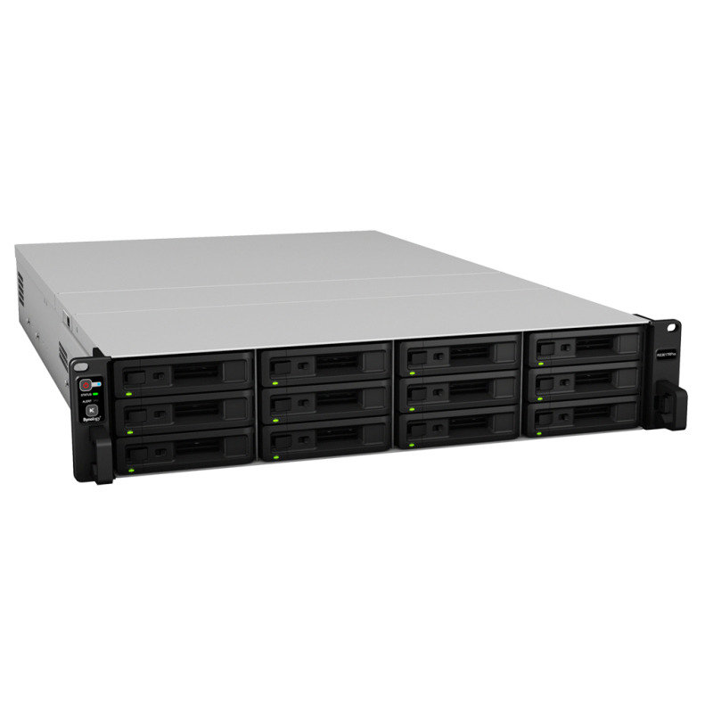 Synology RS3617RPXS 96TB (12 x 8TB WD RED PRO) 12 Bay Rack NAS
