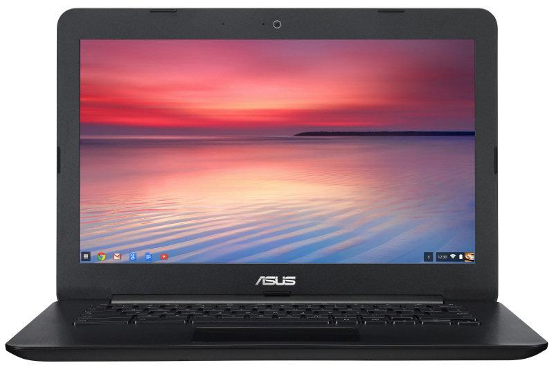 """ASUS Chromebook C300SA Intel Celeron N3060 1.6GHz 4GB RAM 32GB eMMC 13.3"""" LED NoDVD Intel HD WIFI Webcam Bluetooth Chrome OS  3 Year Warranty"""