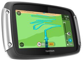 TomTom Rider 40 Motorbike Satellite Navigation System - Western European Maps