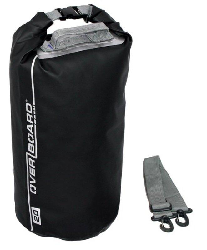OverBoard Waterproof Dry Tube Bag 20 Litres  Black