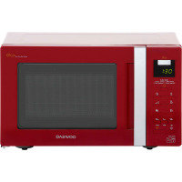 Daewoo Digital Eco Microwave Oven 20 Litre Red 800w 1 Year Warranty