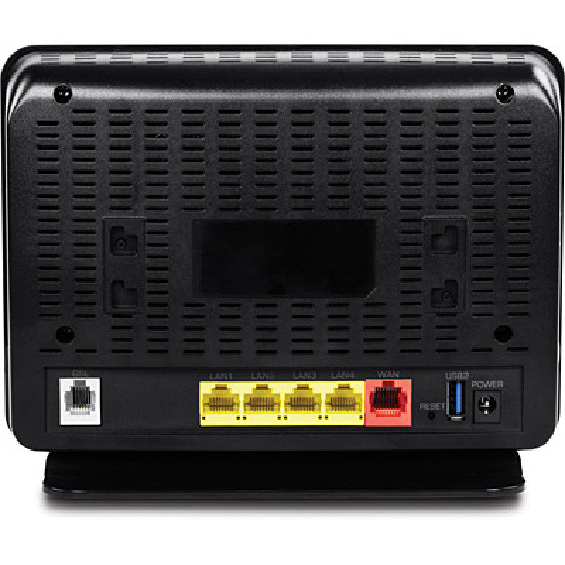 TRENDnet AC750 Wireless VDSL2/ADSL2+ Modem Router