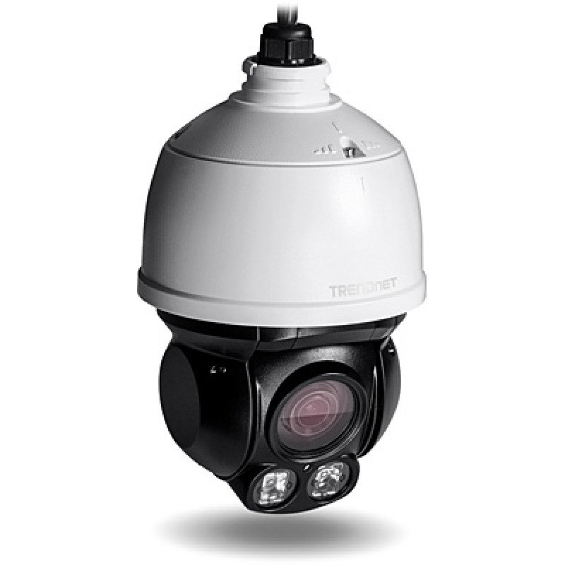 TRENDnet Outdoor 2 MP Full HD 1080p PoE+ IR Mini Speed Dome Network Camera