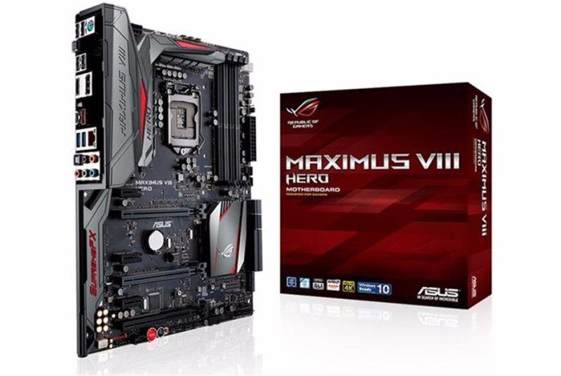 Asus MAXIMUS VIII HERO Intel Socket 1151 Motherboard 90MB0M90-M0EAY0