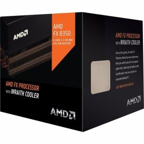 AMD FX 8350 Black Edition AM3+ 8 Core CPU with Wraith Cooler