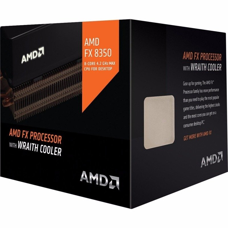 AMD FX8350 with AMD Wraith Cooler FD8350FRHKHBX