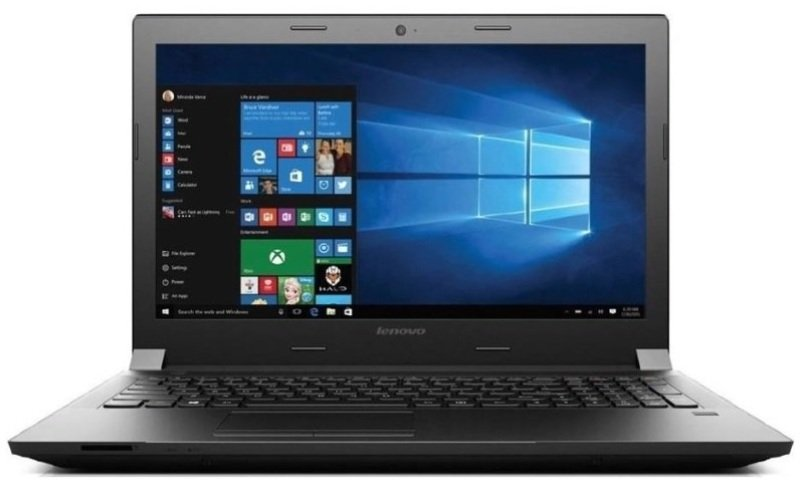 "Lenovo Essential B5050 Laptop Intel Core i35005U 2GHz 4GB RAM 500GB HDD 15.6"" LED DVDRW Intel HD WIFI Webcam Bluetooth Windows 10 Home 64bit"