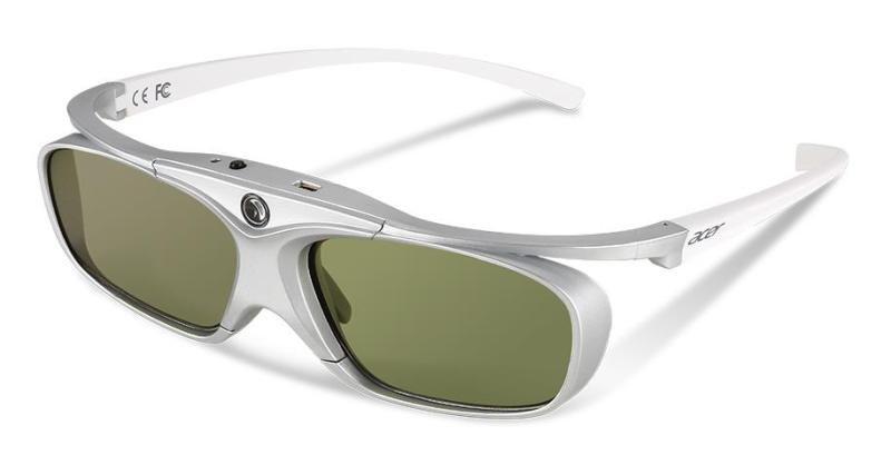 Acer E4W White Rechargeable DLP 3D Glasses