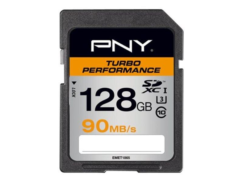 PNY Turbo Performance 128GB SDXC Memory Card