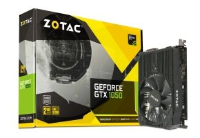 Zotac Geforce GTX 1050 Mini 2GB GDDR5 DVI-D HDMI DisplayPort PCI-E Graphics Card