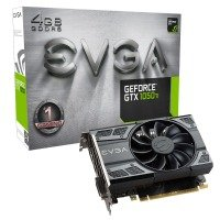 EVGA Nvidia GeForce GTX 1050Ti Gaming 4GB GDDR5 Graphics Card 04G-P4-6251-KR