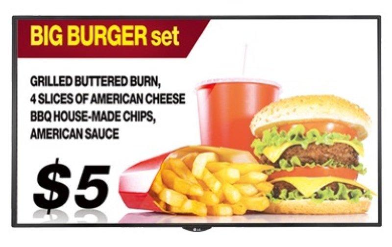 "LG 55SE3KB 55"" Full HD Large Format Display"