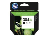 HP 304XL High Yield Ink Cartridge - Black