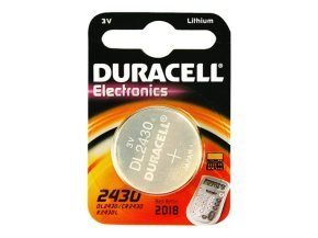 Duracell Battery - Duracell3v Lithium Button Cell - Pack of 1