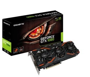 Gigabyte GTX 1080 Windforce 8GB OC GDDR5X Graphics Card