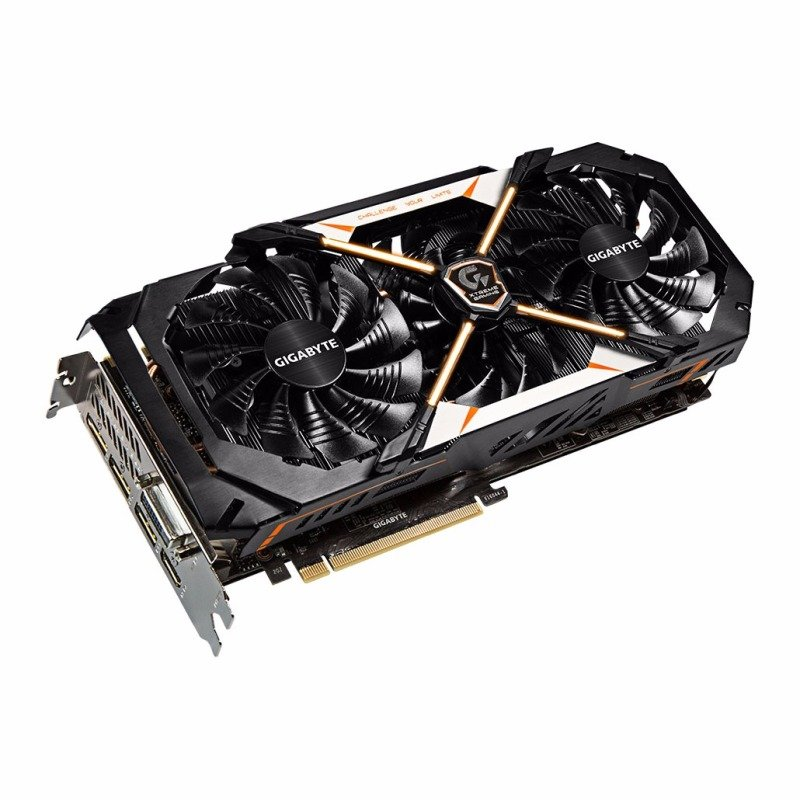Gigabyte NVIDIA GeForce GTX 1070 XTREME GAMING 8GB GDDR5 Graphics Card GV-N1070XTREME-8GD