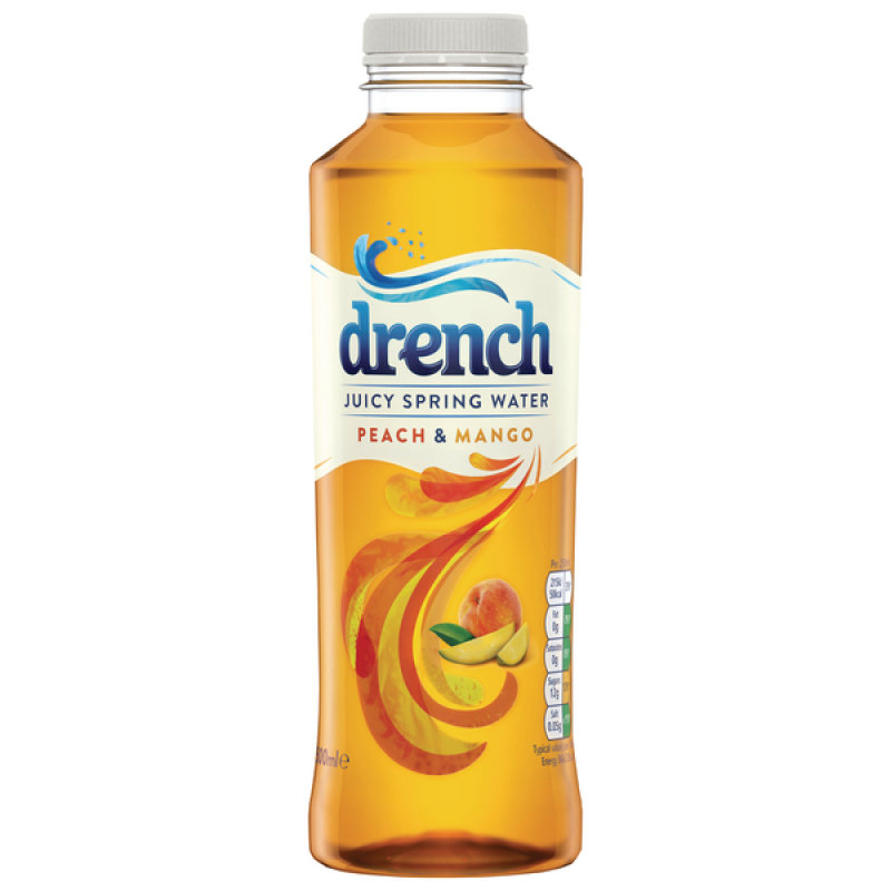 Juicy Drench Peach Mango 500ml Pk24
