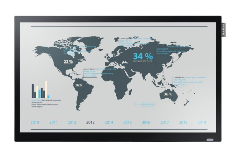 """Samsung DB22D 22"""" Touch Display"""