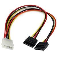 Startech 3.5mm 4 Position to 2x 3 Position 3.5mm Headset Splitter Adapter - F/M