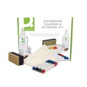 Q-connect Whiteboard Clean Accessory Kit