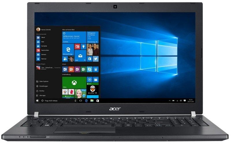 "Acer TravelMate P658M Laptop Intel Core i76500U 2.5GHz 8GB RAM 256GB SSD 15.6"" FHD NoDVD Intel HD WIFI Webcam Windows 7  10 Pro"