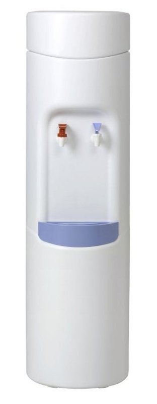 Floor Standing Water Cooler Dispenser White