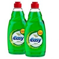Easy Washing up Liquid Twin 550ml (Pack 2)